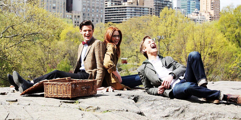 Jedenasty, Amy i Rory: piknik w Central Parku