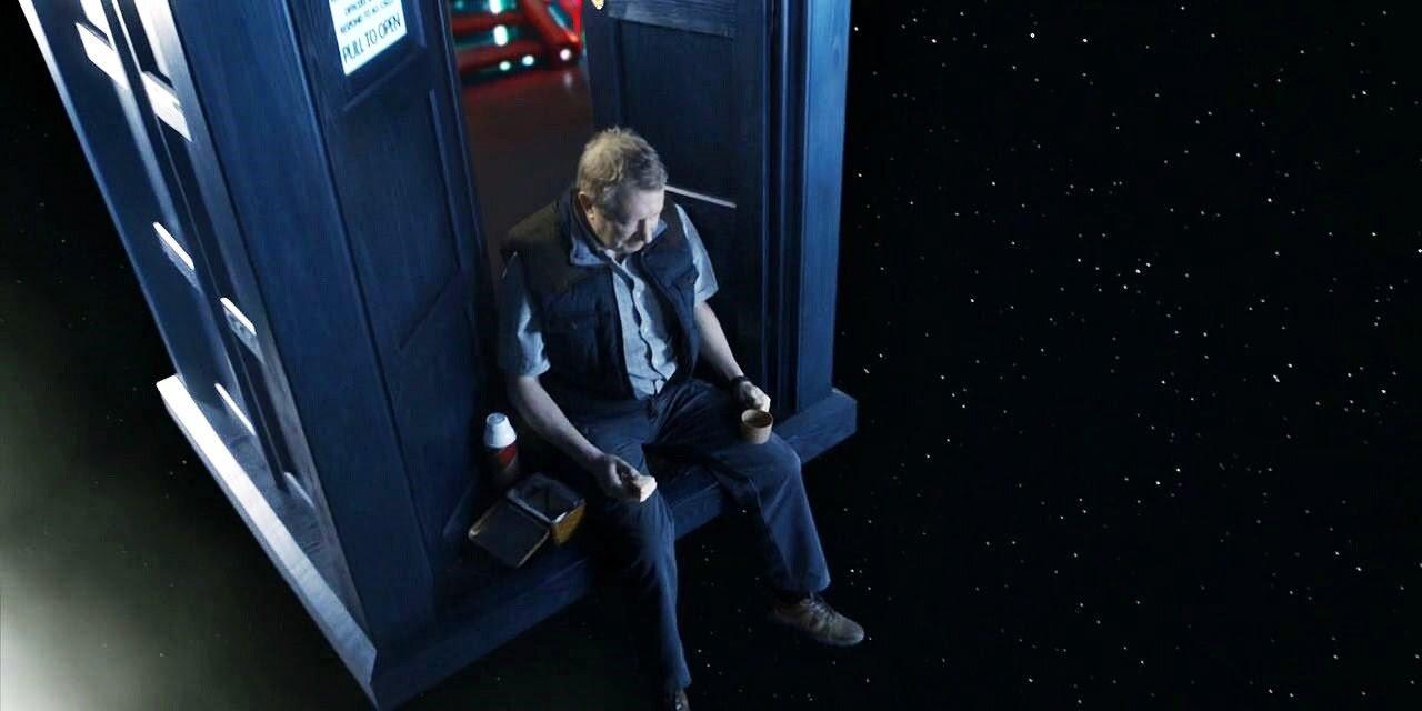 Brian Williams, The Dinosaurs On the Spaceship, TARDIS