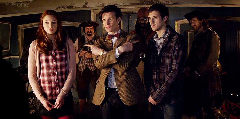Rory i Amy na statku pirackim