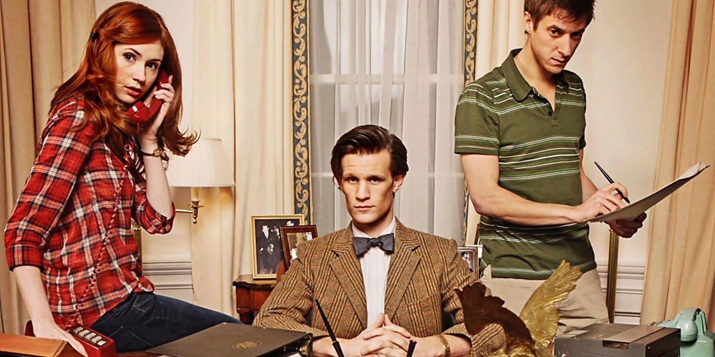 Amy, Rory i Jedenasty za biurkiem prezydenta USA