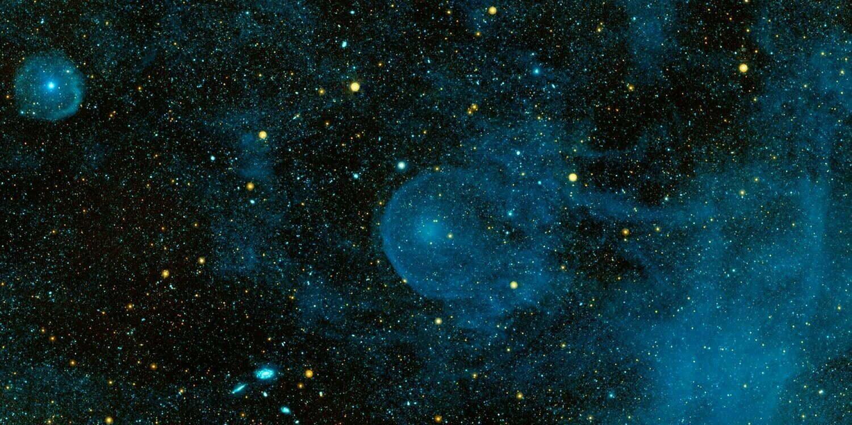 Zdjęcie kosmosu od NASA.