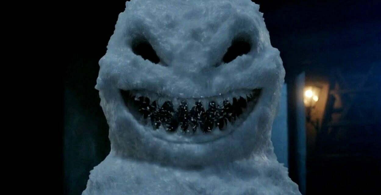 Bałwan z wyszczerzonymi zębami z odcinka The Snowmen