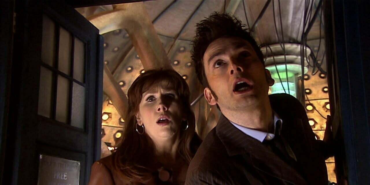 Donna i Dziesiąty Doktor, Stolen Earth.
