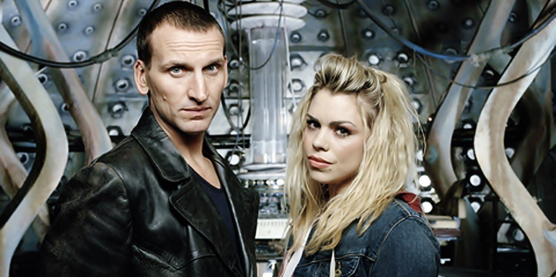 Christopher Eccleston jako Dziewiąty Doktor, Billie Piper jako Rose