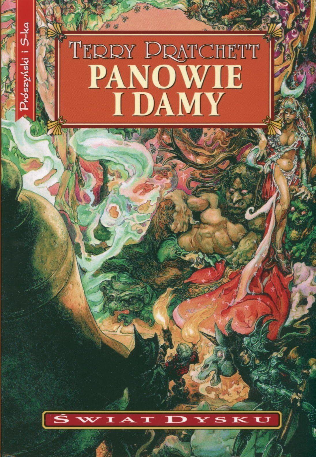 Okładka powieści Panowie i Damy. Autor: Terry Pratchett