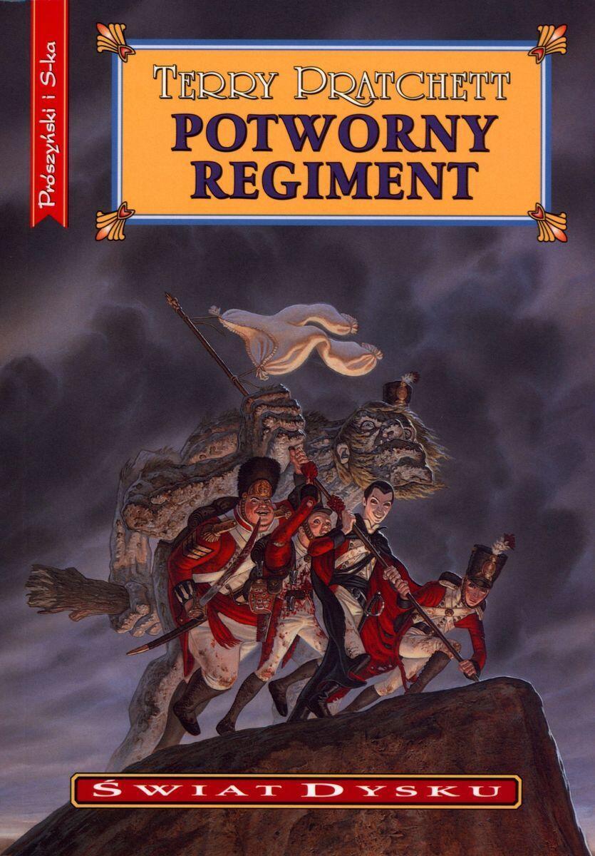 Okładka powieści Potworny regiment.