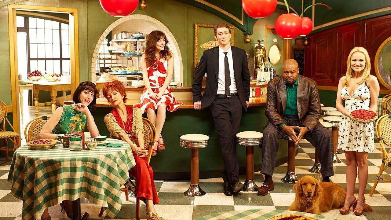 Pushing Daisies - ekipa w kawiarni. Najbardziej wholesome seriale