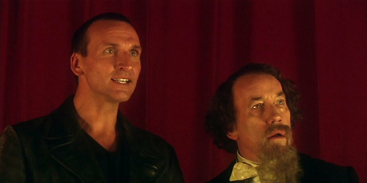 Dziewiąty Doktor i Charles Dickens, The Unquiet Dead