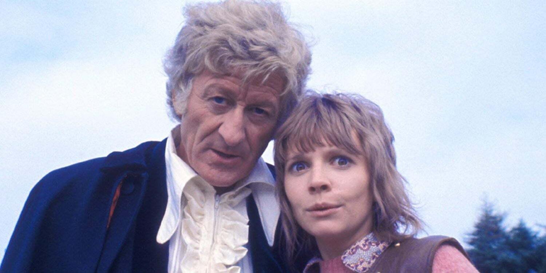 Trzeci Doktor i Jo Grant w The Curse of Peladon