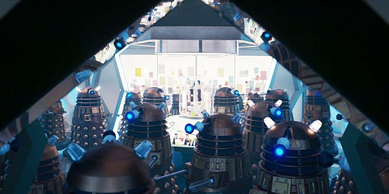 Dalekowie w starej nowej TARDIS, Revolution of the Daleks.