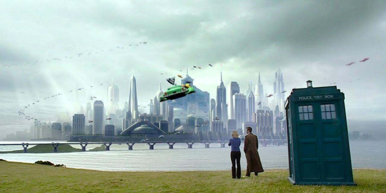 Dziesiąty Doktor, Rose, TARDIS, New Earth