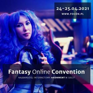 Focon - Fantasy Online Convention - plakat