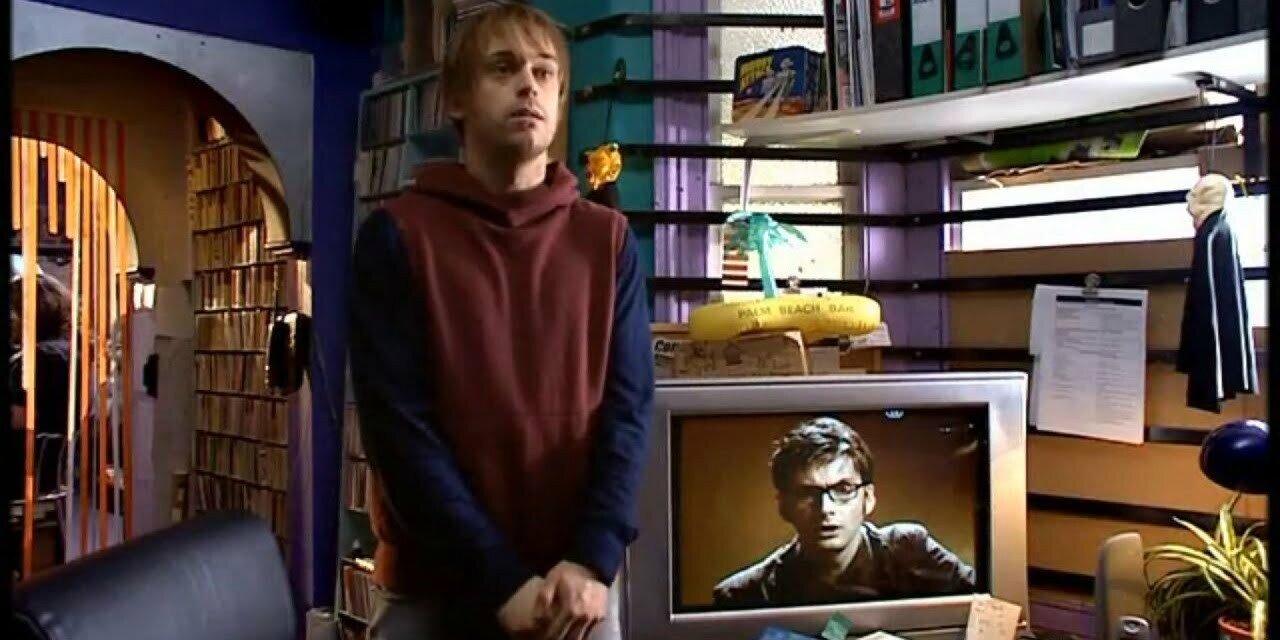 Larry, Dziesiąty Doktor, Blink