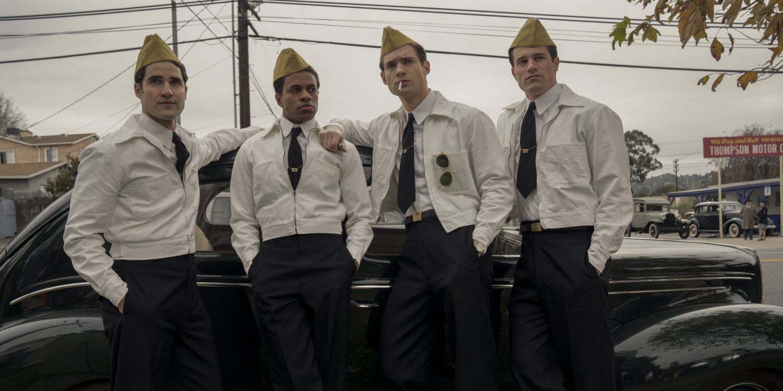 """Kadr z serialu """"Hollywood"""" Ryana Murphy'ego."""