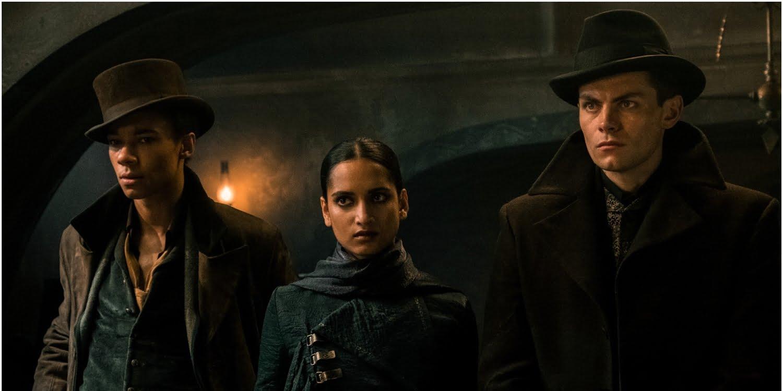 Shadow and Bone: Jesper, Inej i Kaz