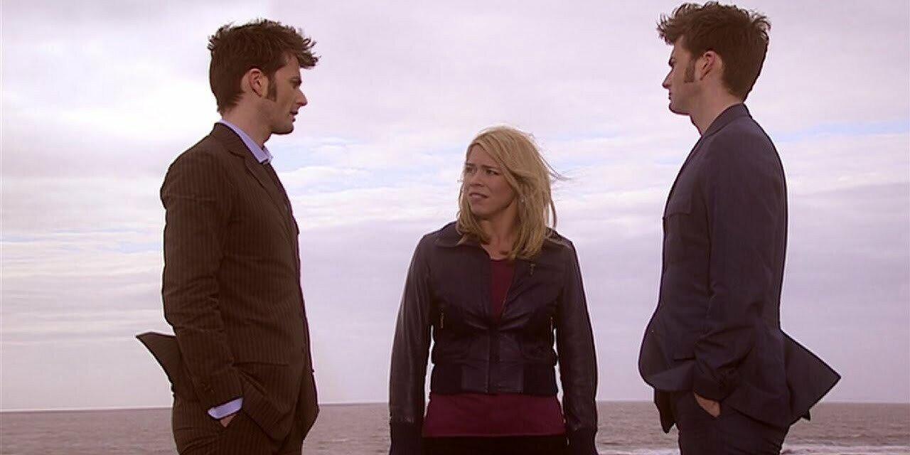 Dziesiąty Doktor, Rose, klon, Journey's End
