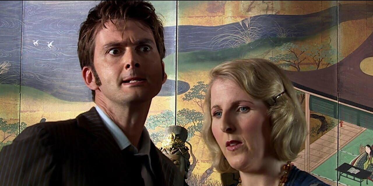 Dziesiąty Doktor i Agatha Christie, The Unicorn and the Wasp
